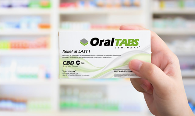 cbd oral tabs box